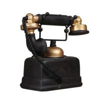 Alat Peraga Telepon Putar Gaya Retro Industrial Untuk Dekorasi