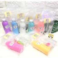 Squishy TOFU Sesuai Slime Lengkap 330ml GAGAL Free ANTI KIT Bahan SLIM