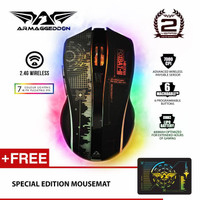 Mikoyan Foxbat III Wireless (2.4G) Gaming Mouse by Armageddon