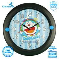 Jam Dinding Quartz Anak Anak Frozen Hellokitty Doraemon Esa 726K Besar