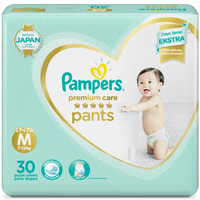 Pampers Popok Celana M-30 Premium Care Bowt