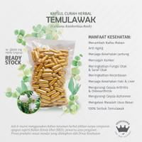 TEMULAWAK 100 Kapsul Herbal AntiAging Metabolisme Alzheimer Kecerdasan