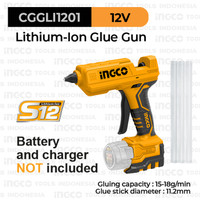 S12 Cordless Glue Gun (Ø11.2mm) INGCO CGGLI1201 Lem Tembak Lilin Cair