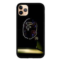 Case iPhone 11 Pro Max Bape Glow in the Dark P1181 Case C