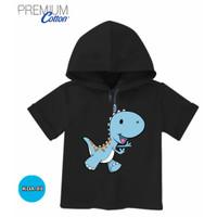 Kaos Hoodie Anak Baju dinosaurus Cute Katun Original #KDA-89