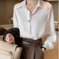 CARIE WHITE Baju Kemeja Blus Atasan Wanita Terbaru