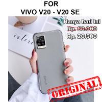 FROZ case Vivo V20 - V20 SE softcase casing back cover tpu ultra thin - Vivo V20, Blue