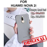 Case Huawei Nova 2i softcase casing back cover silikon ultra thin FROZ - Black