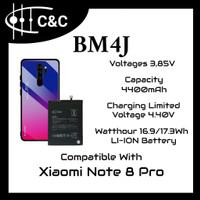 Batre Baterai Battery Redmi Note 8 Pro BM4J Merk