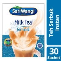 SARIWANGI MILK TEA POWDER TEH TARIK BUBUK 23G ISI 30