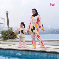 QT483 PIYAMA RAYON SOFIA COUPLE MOM AND KIDS