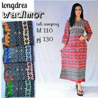 CS750 Baju Daster Batik Murah LD 110 Lengan Panjang untuk Busui & Bumi