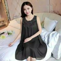 RR930 - baju tidur wanita sexi import dress bordir import Linggeri imp