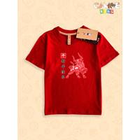 Kaos Baju Anak Kids Sincia imlek shio kerbau gong xi