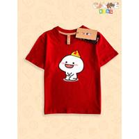 Kaos Baju Anak Kids Si Pentol Sincia Imlek Gong xi