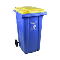 krisbow 240 ltr tempat sampah plastik neo - biru