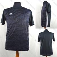 Baju Kaos Jersey Sepak Bola/Futsal Dri-Fit Print Adidas AD148 Hitam
