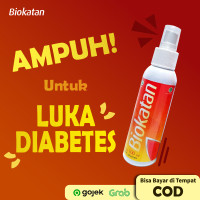 Obat Herbal Luka Diabetes Kering/Basah/Melitus/Bernanah BIOKATAN Ampuh