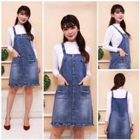 Pakaian Wanita / Baju Rok Dress Jumpsuit Overall Kodok Monyet Jeans