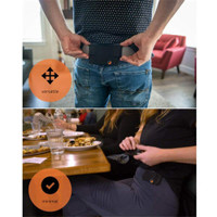 Invisible Wallet- Unisex Waist Bag Mini Pouch for Key Card Phone