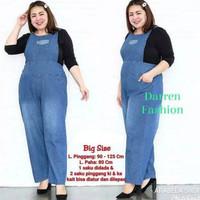 Pakaian Wanita / Baju Overall Jumpsuit Celana Kodok Panjang Kulot
