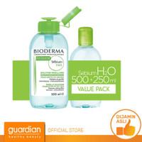 TERBAIK Bioderma Sebium H2O Pack 500 ml 250 ml TYF