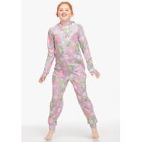 Justice Girls Sloth Onesie Pajamas Cloudy Heather