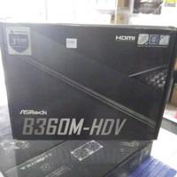 Jual Motherboard Asrock B360M-HDV DDR4 LGA 1151 Limited