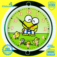 Jam Dinding Karakteranak Doraemon Keropi Hellokitty Esa 727 Besar