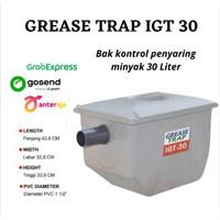 Grease trap IGT 30 / bak kontrol / penyaring lemak cuci piring