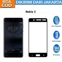Tempered Glass Nokia 5 FULL LEM FULL COVER 9D Anti Gores