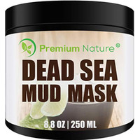 Dead Sea Mud Mask for Face and Body - 8.8 oz Melts Cellulite Treats Ac