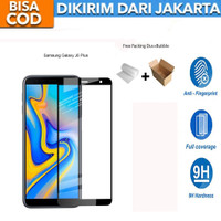 Tempered Glass Samsung Galaxy J6 Plus FULL COVER 9D Anti Gores