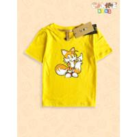 Kaos Baju anak kids Tails Sonic The hedgehog