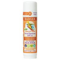 Badger - SPF 35 Clear Zinc Kids Sunscreen Stick - Tangerine & Vanilla