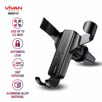TERMURAH VIVAN Car Holder Universal AC Mobil Stand in Car Air Vent Alu