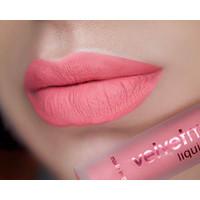 LA Splash Cosmetics Waterproof Liquid Matte Pink Lipstick Long Lasting