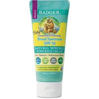 Badger - SPF 30 Baby Sunscreen Cream with Zinc Oxide - Broad Spectrum