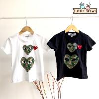 Baju - Premium Littledrew Anak Kaos A009 Cdg