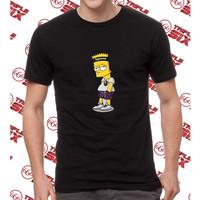 Kaos Baju Distro Bart Simpson simson kartun