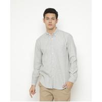 Kemeja Pria Erigo Long Shirt Gilbert Katun Grey Misty