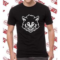 Kaos Baju Distro Fox WOlf Serigala Mans Shirt