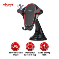 TERMURAH VIVAN CHS07 Car Holder Universal Washable Wheel Lock Suction