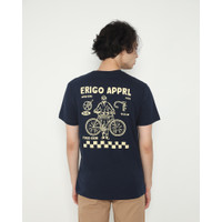 Kaos Pria Erigo T-Shirt Healty Bike Cotton Combed Navy - S