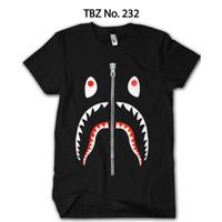 Baju BAPE Shark Anak Premium Katun Original