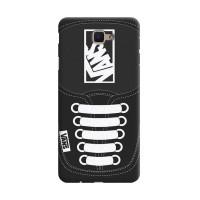 Hard Case Casing Black Vans Shoes For Samsung Galaxy J7 Prime
