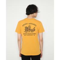 Kaos Pria Erigo T-Shirt Erigo Dragon Cotton Combed Mustard