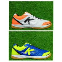 Sepatu futsal kelme K-strong royal blue - white orange SO617