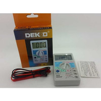 Digital Multitester Dekko 86D ( layar jumbo ) Avometer/ Multimeter