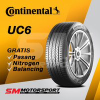 Ban Mobil Continental Ultra Contact UC6 205/50 R17 17 93W